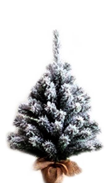 TREE 28IN FLOCKED B-N-B