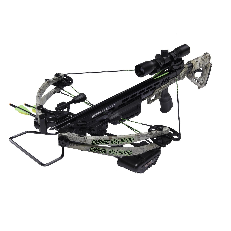 SA Sports Empire Kryptek Hellhound 370 Crossbow