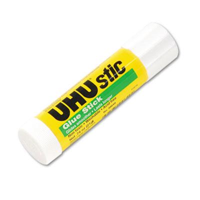 UHU Stic Permanent Clear Application Glue Stick, .74 oz