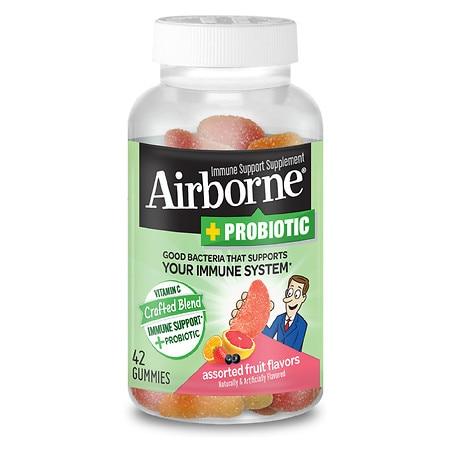 Immune Support Plus Probiotic Gummies, Assorted Fruit Flavors, 42/Bottle