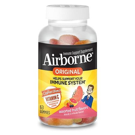 Immune Support Gummies, Assorted Fruit Flavors, 63/Bottle