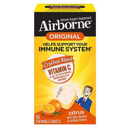 Immune Support Chewable Tablet, Citrus, 96 Count