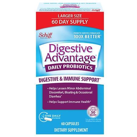 Daily Probiotic Capsule, 60 Count