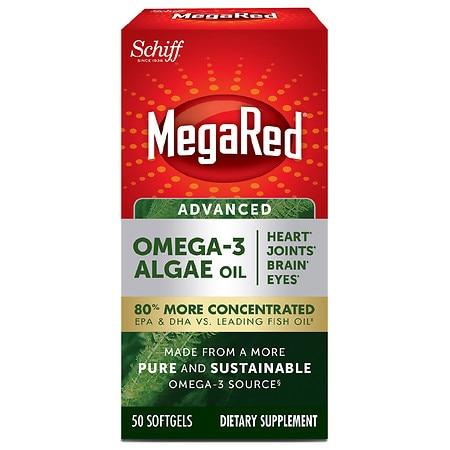 Advanced Omega-3 Algae Oil, 50 Count