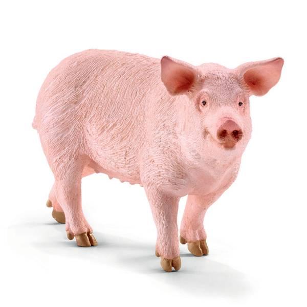 FIGURINE PIG 10 X 2.9 X 5.5CM
