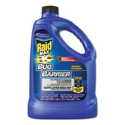 Max Bug Barrier, 128 oz Bottle Refill, 4/Carton