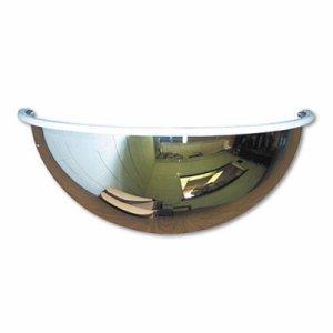 """Half-Dome Convex Security Mirror, 18"""" dia."""