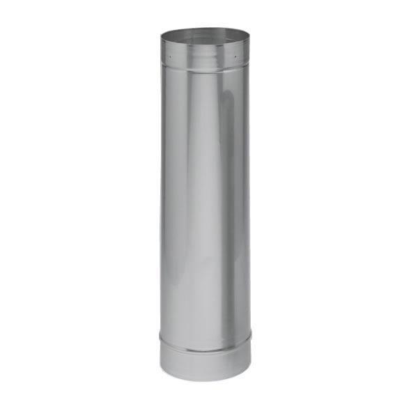 """6"""" x 24"""" Heat-fab Saft Liner, Rigid, 316-alloy"""