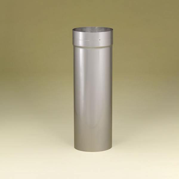 "6"" Heatfab 304-Alloy Stainless Steel Saf-T Liner 18"" (adjusts 4"" - 16"")Slip Connector - 4624SS"