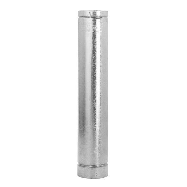 8'' RV Round Vent 60'' Type B Gas Vent Pipe - 108060