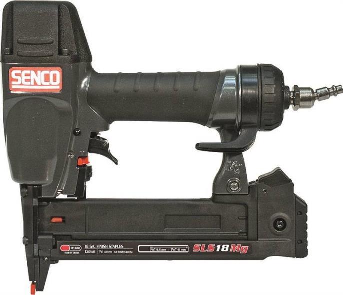 Senco 1W0021N Pneumatic Stapler Kit, 1-5/8 in, 18 ga, 110 Staple