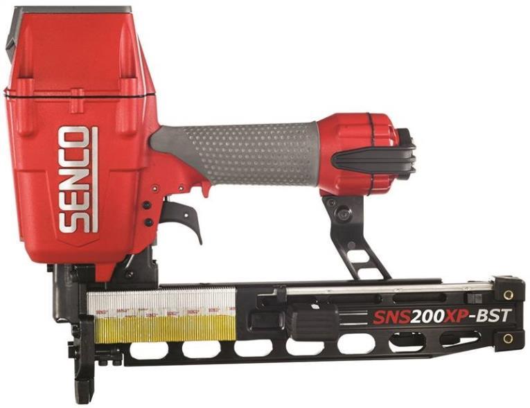 Senco 7C0001N Heavy Wire Pneumatic Construction Stapler, 2 in, 17 - 16 ga, 160 Staple