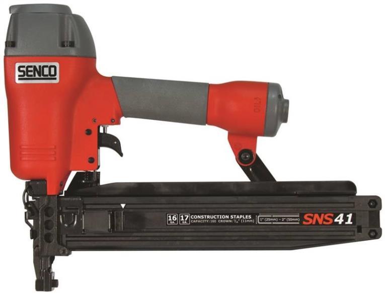 Senco 3L0003N Construction Stapler, 2 in, 16 ga, 160 Staple
