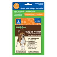 DE-WORMER 7 WAY SMALL DOG 2CT
