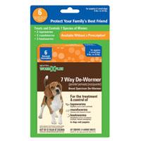 DE-WORMER 7 WAY SMALL DOG 6CT
