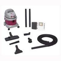 All Around Ez 5895200 Wet/Dry Corded Vacuum, 120 VAC, 8 A, 2.5 hp, 2.5 gal Tank, 130 cfm