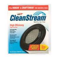 Shop-Vac 9036100 High Efficiency Reusable Cartridge Filter