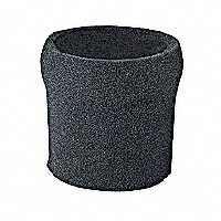 Shop-Vac 9058500 Foam Sleeve Filter, 8 in Dia X 6-1/2 in H, 239 psi Static Pressure