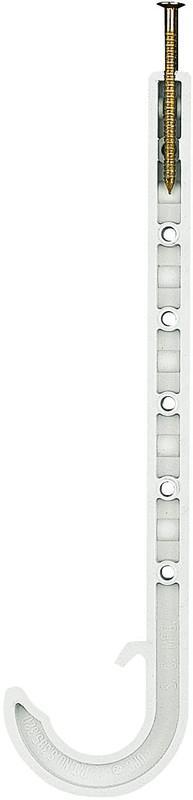 5534W 1CTS WHITE JR J-HOOK
