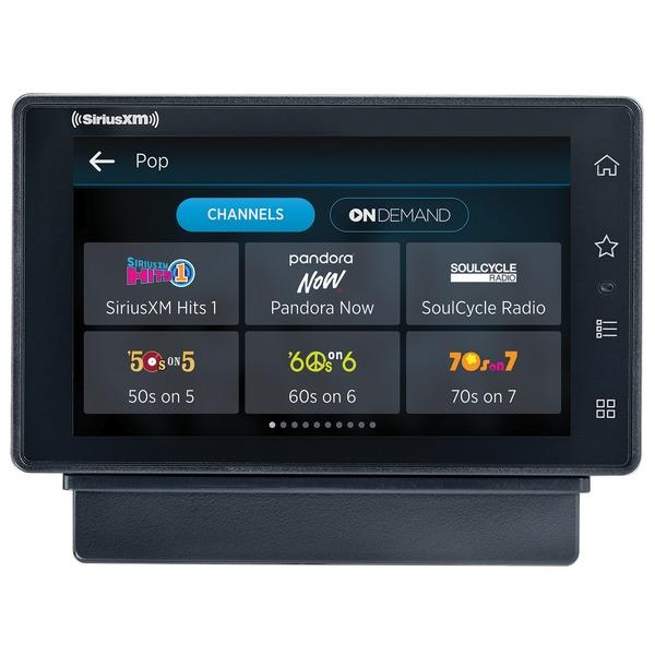 SiriusXM SXWB1V1 SiriusXM Tour Dock & Play Radio with 360L, PowerConnect Vehicle Dock, and Bluetooth
