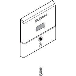 Closet Sensor Wall Plate Kit Polished Chrome