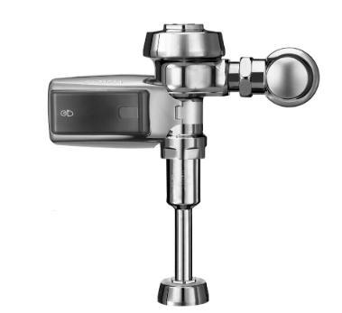 0.125 Gallons Per Flush 186-0.13 Urinal Flush Valve Chrome Smooth