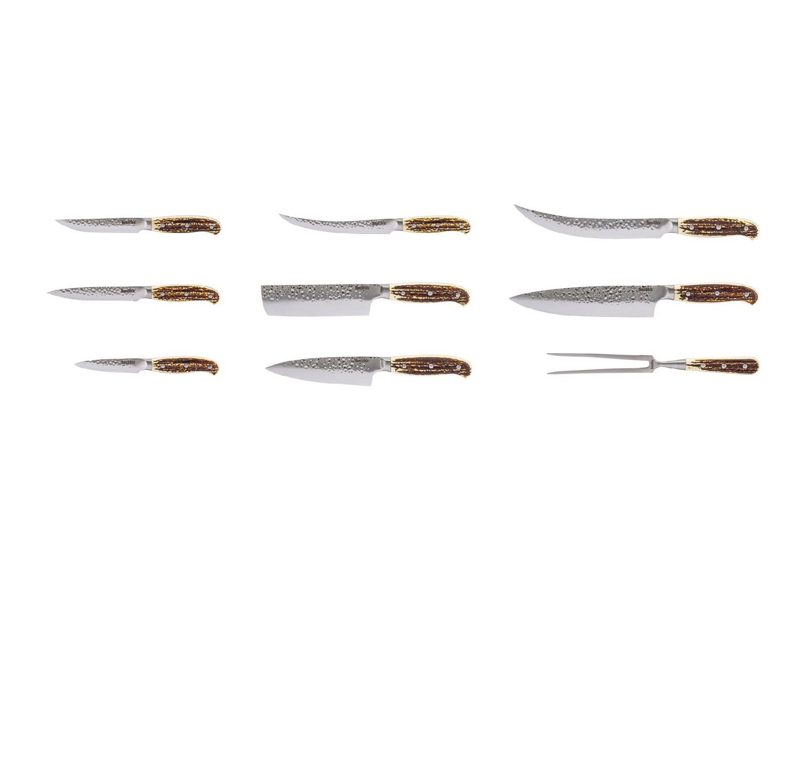 Smith Smith's Cabin & Lodge Cutlery 15-PCS Block Set