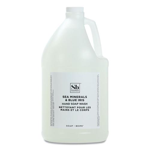 Hand Soap, Sea Minerals and Blue Iris, 1 gal Bottle, 4/Carton