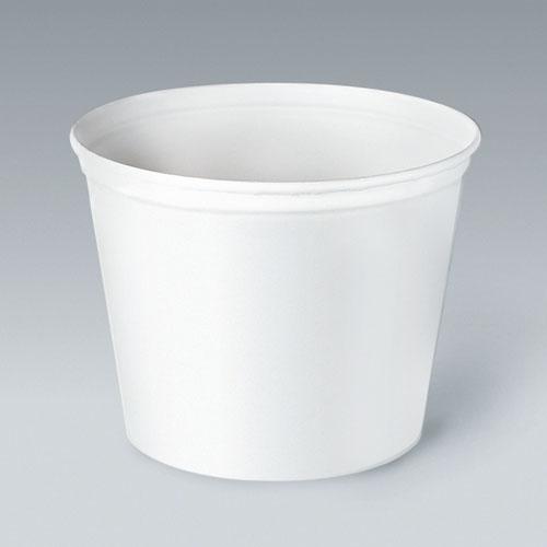 Double Wrapped Paper Bucket, Unwaxed, White, 165oz, 100/Carton