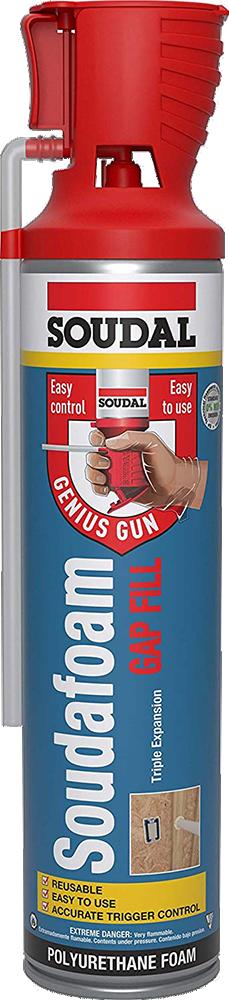 124451 MAX GENIUS GUN FOAM