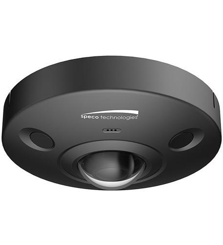 6MP 360 Degree Outdoor Dome- Black