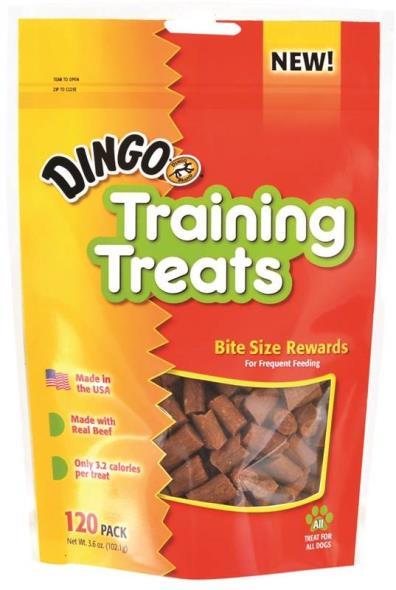 United Pet DN-99162PDQ Dingo Dog Treats, Training Treats