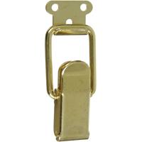 Stanley 833295 Lockable Draw Catch, Brass