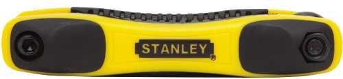 STANLEY� SAE FOLDING HEX KEY SET, 9 PIECE