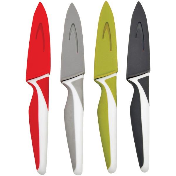 Starfrit 080906-006-0000 Set of 4 Paring Knives