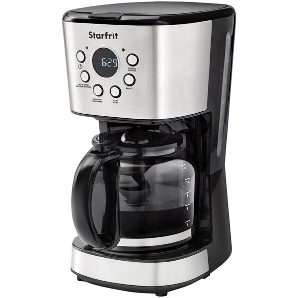 Starfrit 024001-002-0000 12-Cup Drip Coffee Maker Machine