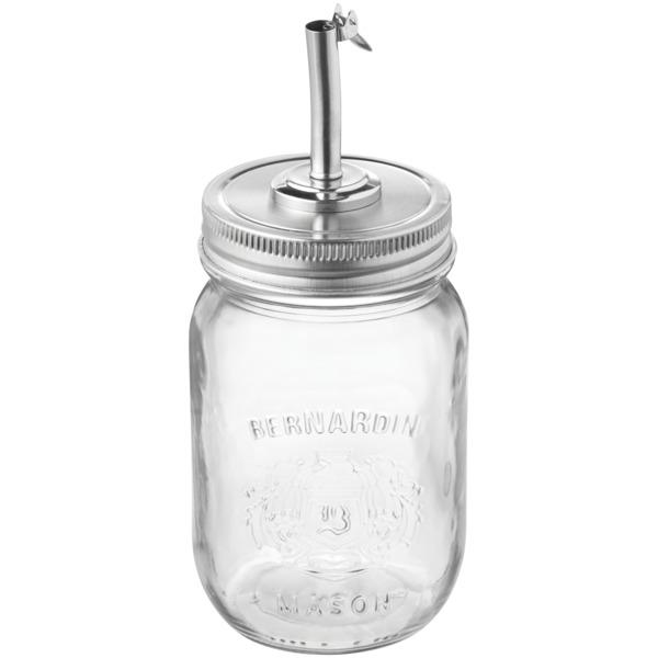 Starfrit 092976-006-0CDU Oil and Vinegar Pourer for Mason Jars