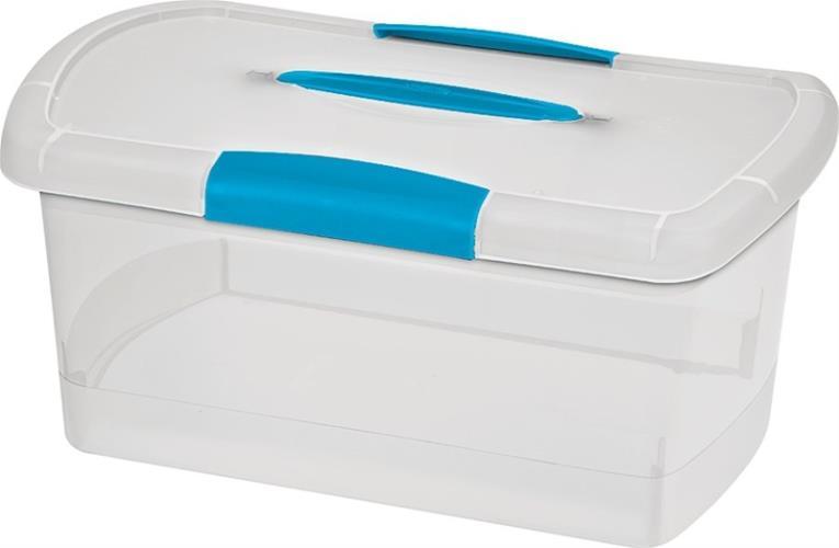 Nesting ShowOffs 18748606 Medium Nesting Storage Box, 15-1/4 in L x 9-3/4 in W x 7-1/8 in H, Plastic