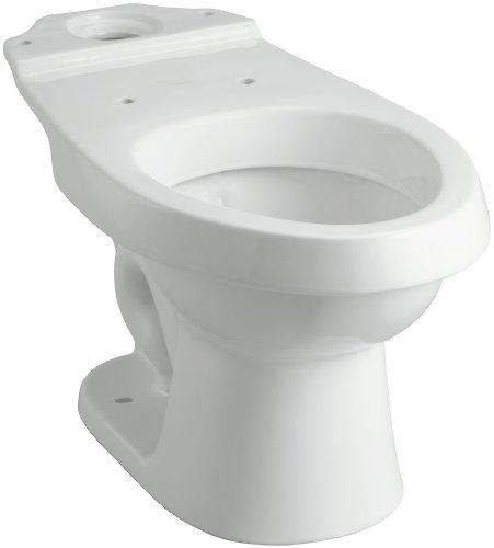 1.6 / 0.8 Gallons Per Flush Vitreous China Elongated Bowl *ROCKTO White