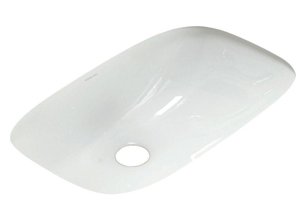 Stinson Undercounter Lavatory White