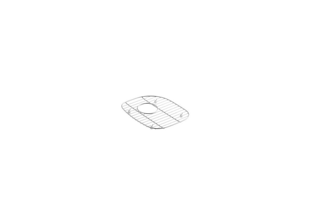 10-7/8X12-7/8 Right Hand Bottom Basin Rack Stainless Steel