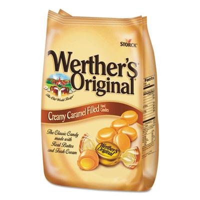 Hard Candies, Caramel w/Caramel Filling, 30 oz Bag