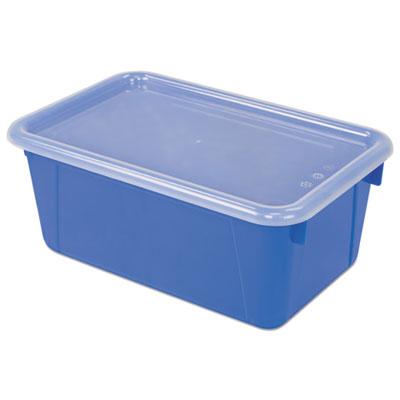 Cubby Bins, 12.2 x 7.8 x 5.1, Blue, 6/PK