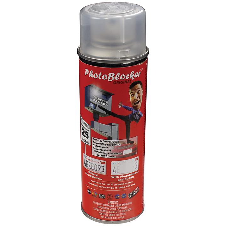 Street Vision License Plate Camera Blocker Spray-6 oz. can