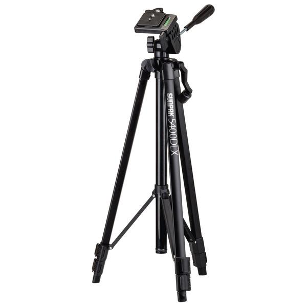Sunpak 620-504DLX Traveler1 50-Inch Tripod for Compact Camera, Smartphones, and GoPro