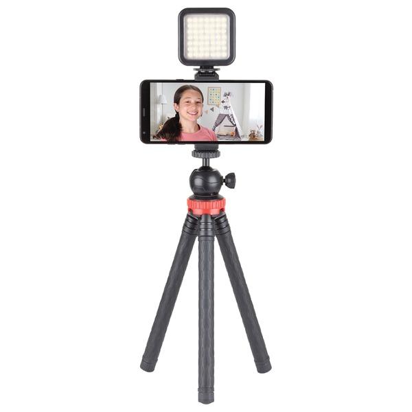 Sunpak VGY-LED49 Online Influencer Vlogging Kit with Bluetooth Remote