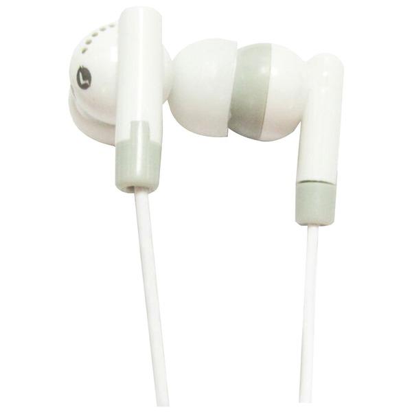 Supersonic IQ-101 WHITE IQ-101 Digital Stereo Earphones (White)