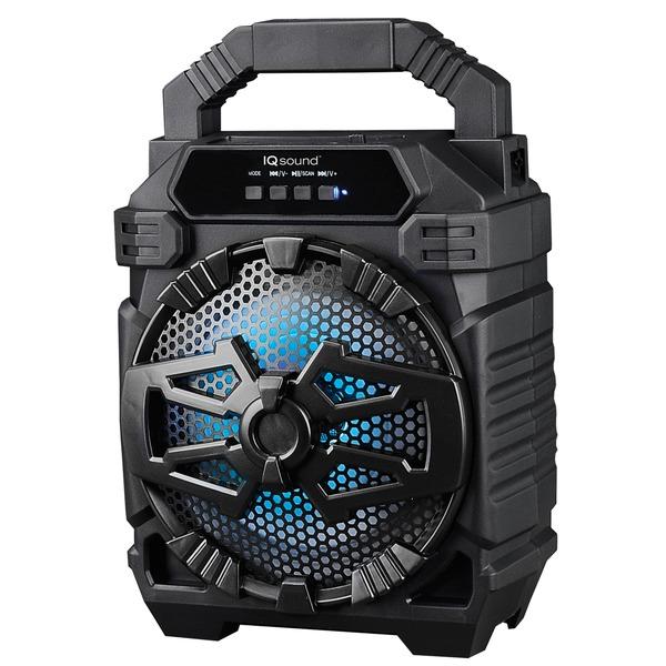 Supersonic IQ-1665BT- Black 6.5-Inch Portable Bluetooth Speaker (Black)
