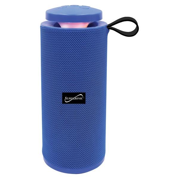 Supersonic SC-2328BT - BLUE Portable Bluetooth Speaker with True Wireless Technology (Blue)