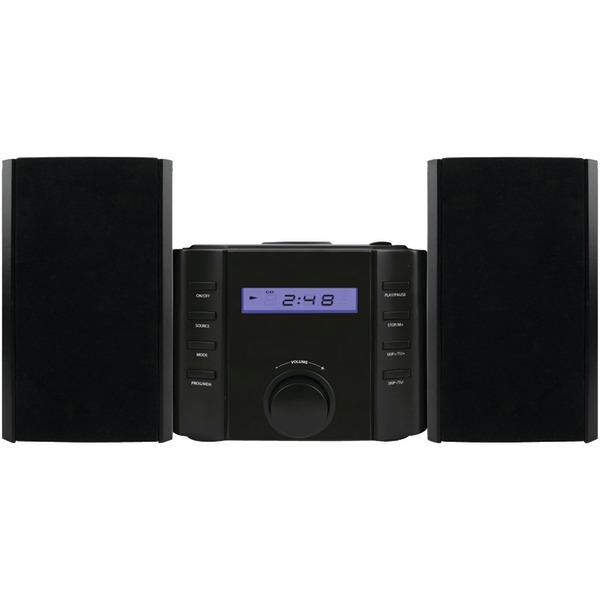 SYLVANIA SRCD804BT Bluetooth CD Microsystem with Radio